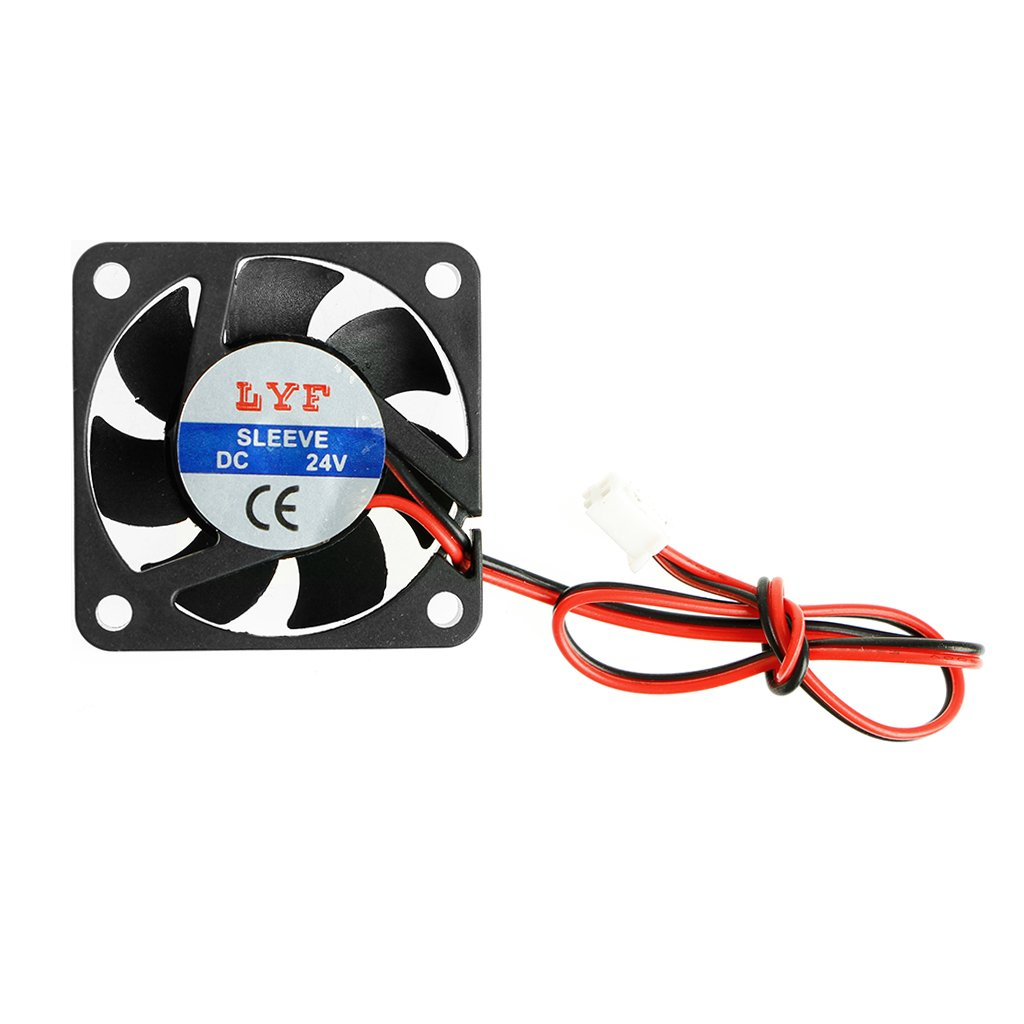 1pc 24V 0.10A 40mmx40mmx10mm 4010 DC Brushless Cooling Fan 2pin Connector