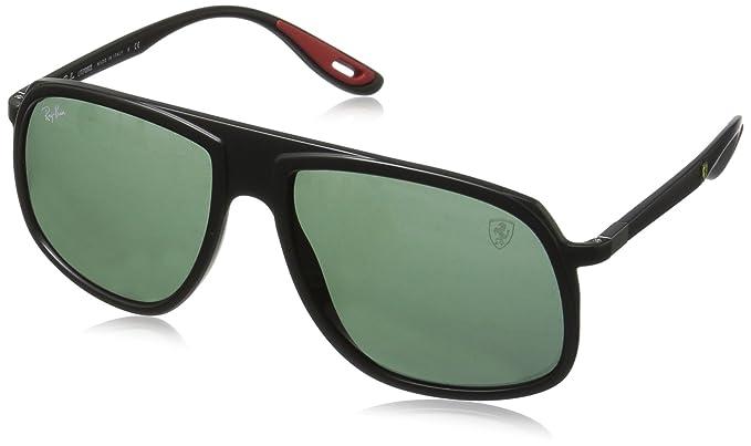 Ray-Ban 0RB4308M Gafas de sol, Matte Black, 40 para Hombre ...