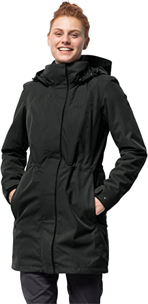 Jack Wolfskin, 3 in 1 jas voor dames, Ottawa Coat Jacket