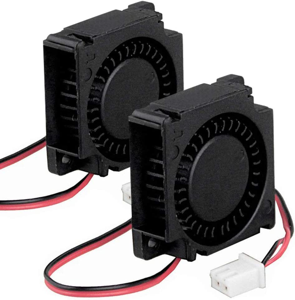 2 Pack Wathai 30mm x 10mm 5V Small DC Brushless Cooling Blower Fan