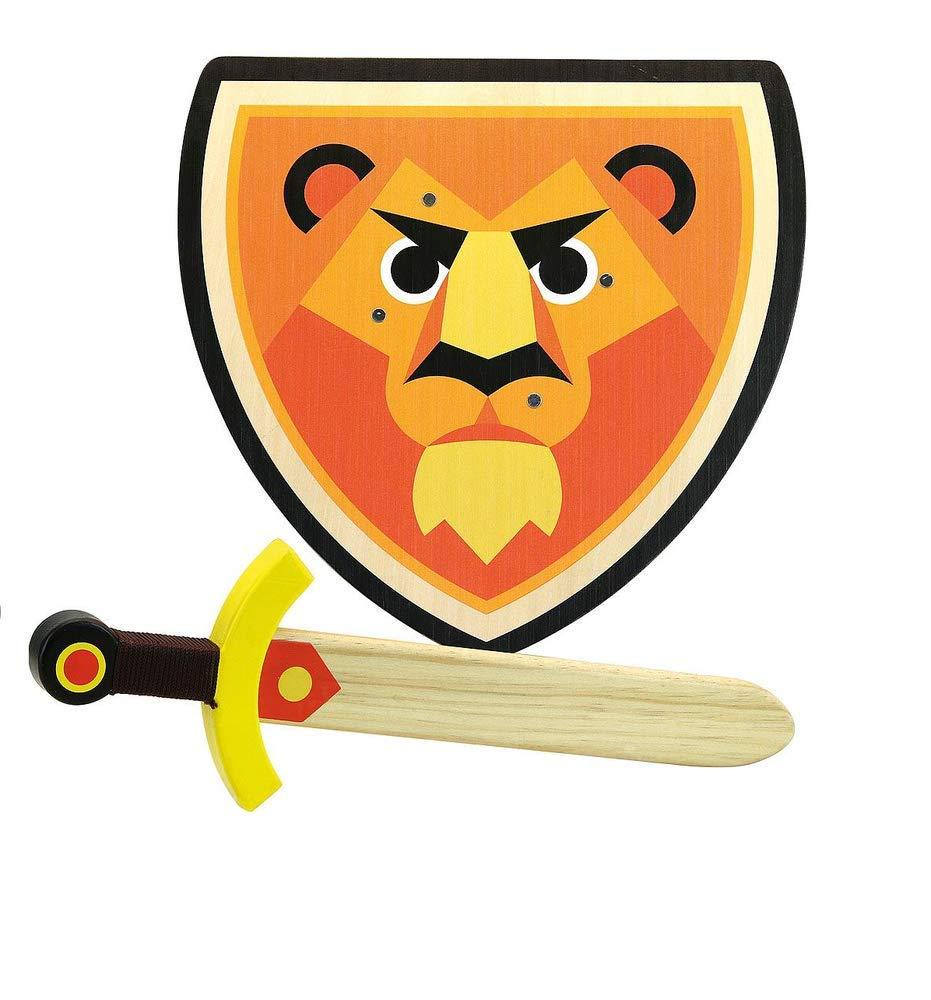 Vilac - Set Bouclier et épée Lion - Bois - 2962
