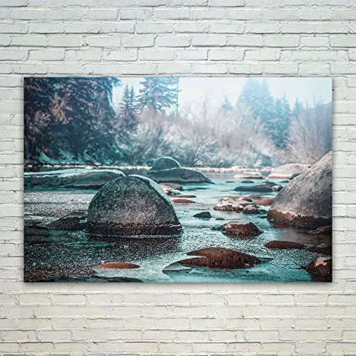 Westlake Art - Poster Print Wall Art - Water Nature - Modern Picture Photography Home Decor Office Birthday Gift - Unframed - 18x12in (xd9-9b1-dbd) - Coldwater Therapy