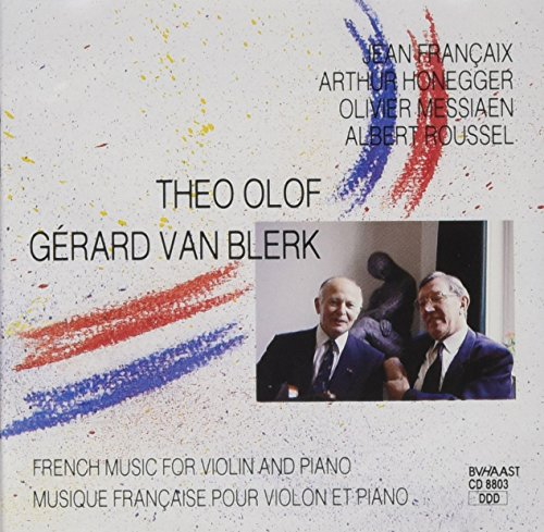 French Music For Violin &