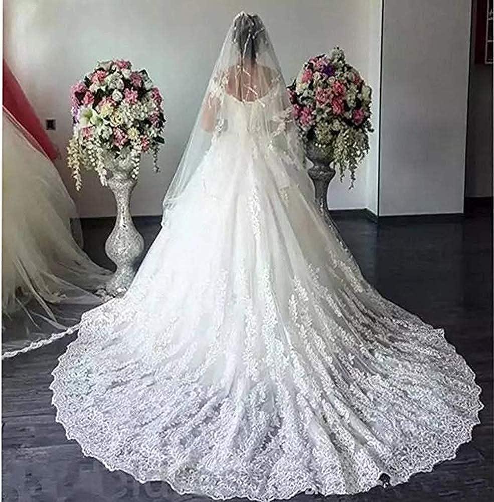 Princess Off The Shoulder Wedding Dresses Bridal Ball Gown 2019 Lace Applique Wedding Dresses for Bride 2020