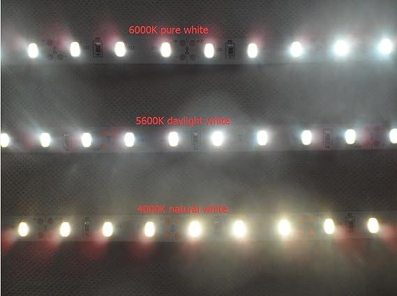 SMD5630 LED Strip Light Daylight White 5600K 55-65lm/LED MARSWALLED High CRI97 Home, Furniture & DIY Fairy Lights