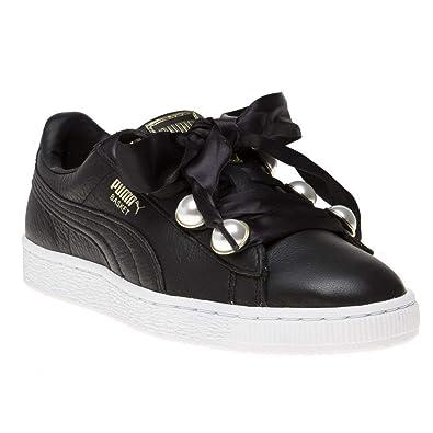 Puma Basket Bling Damen Sneaker Schwarz: Amazon.de: Schuhe & Handtaschen