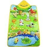 Tonsee® Music Sound Farm Animal Kids Baby Play Playing Mat Carpet Playmat Gym Toy, 60cm x 40cm/23.62 x 15.75 inch
