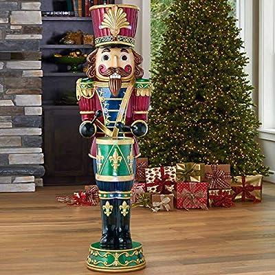 Nutcracker Classic Wood-Look Life-Size 6' Christmas Holiday