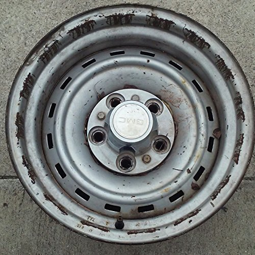 15 INCH 1977-1991 CHEVY BLAZER GMC JIMMY S10 SUBURBAN OEM STEEL WHEEL RIM 1095 15X8 5X5 (Tire Cover Chevy Blazer compare prices)
