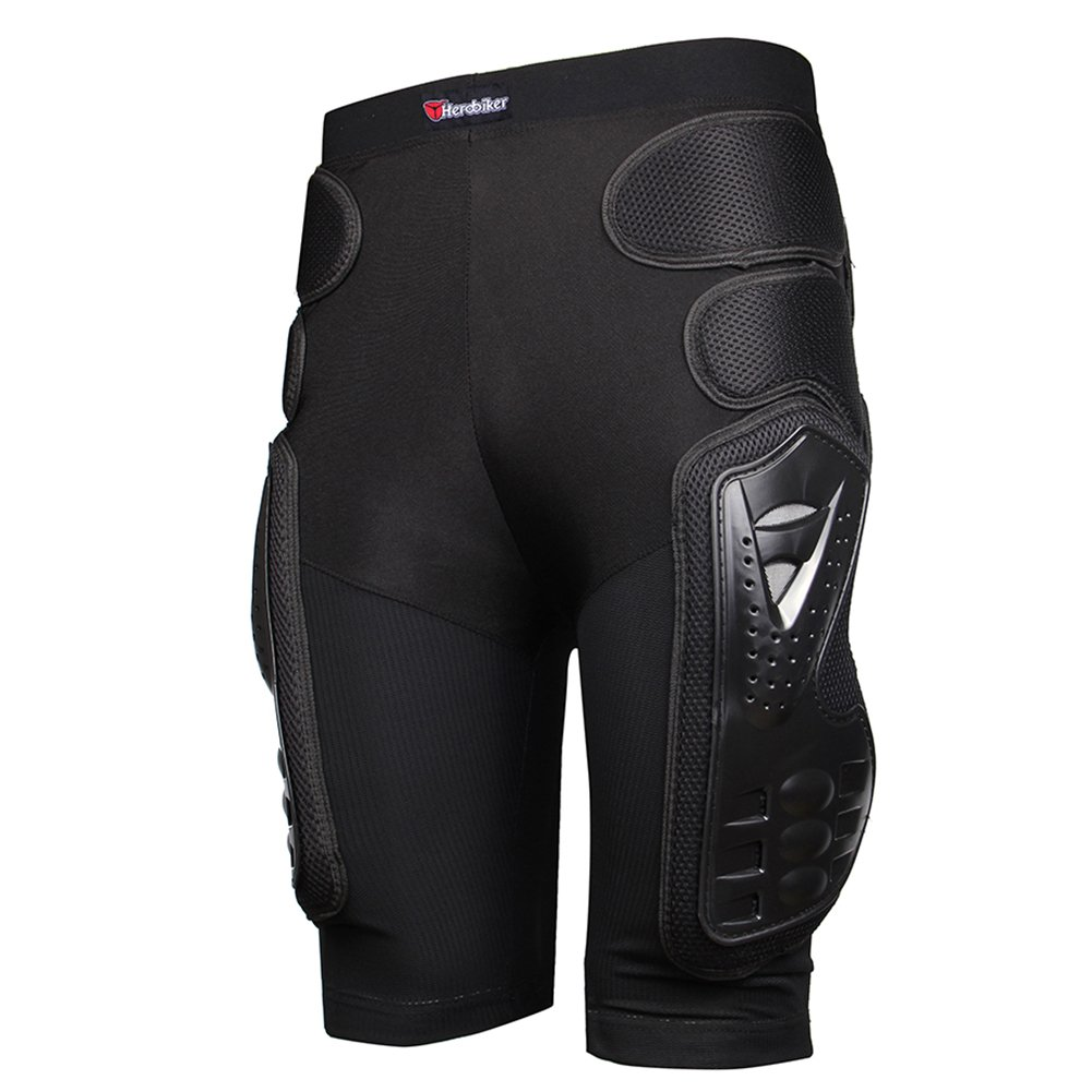 HEROBIKER Protective Armor Pants Hockey Knight Gear for Motorcycle Motocross Racing Ski Protect Pads Sports Hips Legs