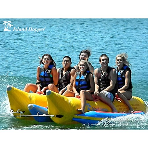 Island Hopper 6 - Passenger Elite Class Side by Side Heavy Commercial Banana Boat
