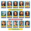 Trend Enterprises U.S. Presidents Bulletin Board Set (T-8065)