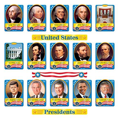 Trend Enterprises U.S. Presidents Bulletin Board Set (T-8065)