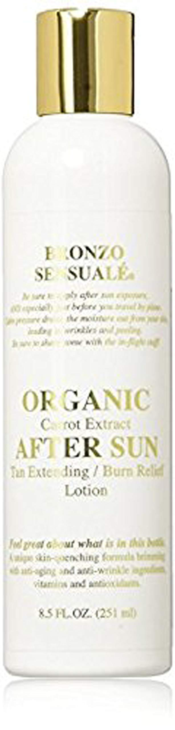 Bronzo Sensualé After Sun and Sun Tan Extender Carrot Lotion 8.5 Ounces by BRONZO SENSUALE (Image #1)