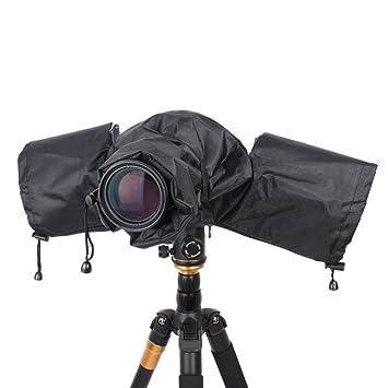 Protección impermeable para cámara réflex digital, funda impermeable para cámaras digitales Canon, Nikon, Pentax, Sony, Olympus, Fuji, Sigma, ...
