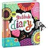 """Peaceable Kingdom 'My Gratitude' 6.25"""" Lock and Key, Lined Page Diary for Kids"""