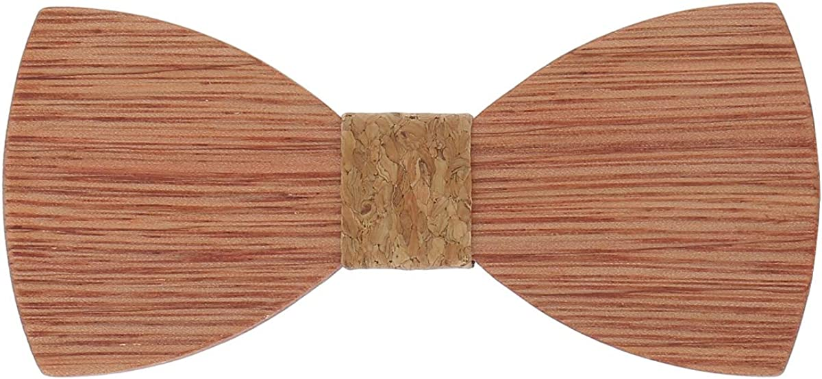 Papillon in Legno Matrimonio SHIPITNOW Papillon Legno Uomo Festa
