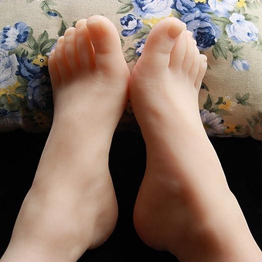 2 pack Female Feet Mannequin Foot Model for Business