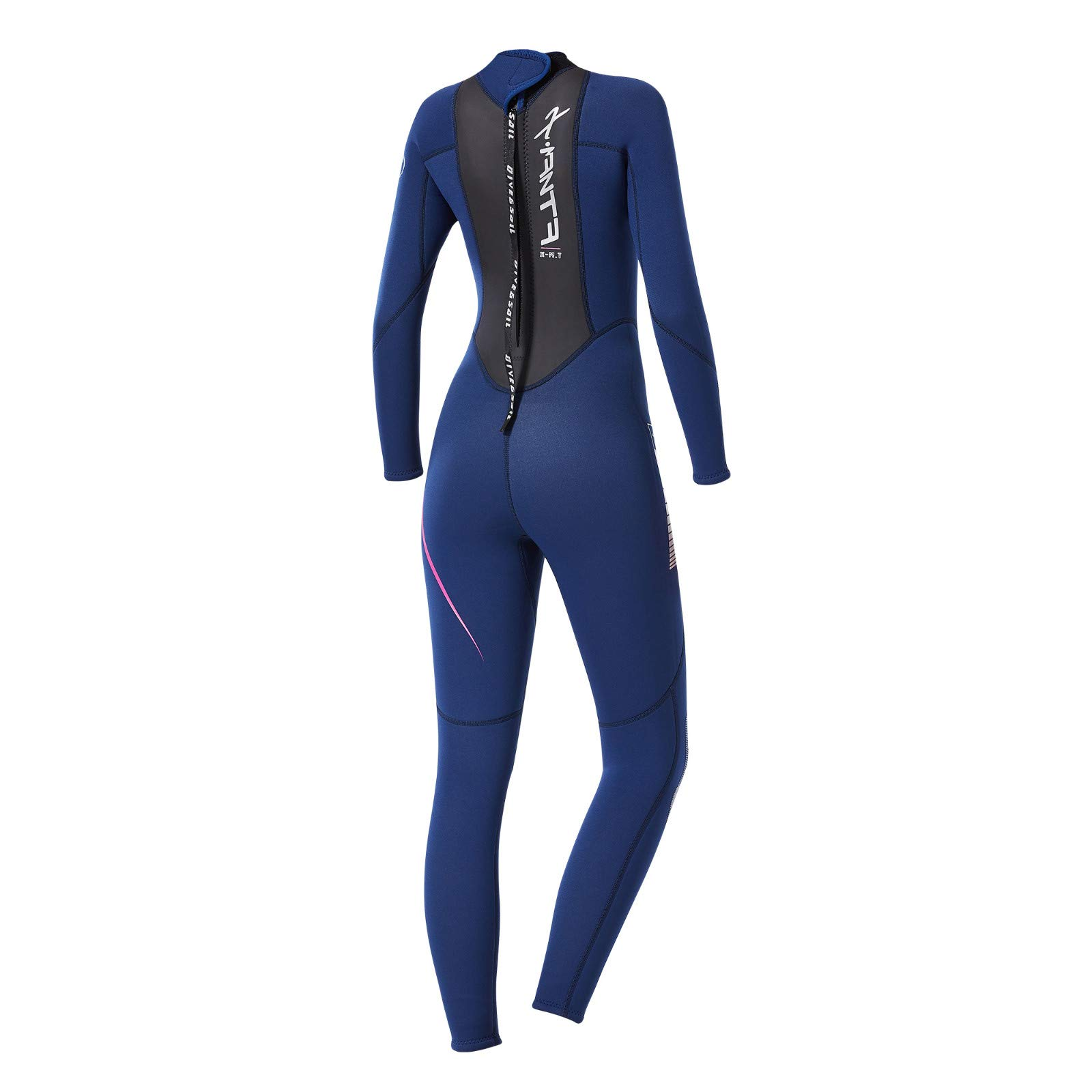 Women's Keep Warm Sunscreen Swimming,Surfing and Snorkeling Diving Coverall Suit by LUXISDE (Image #9)