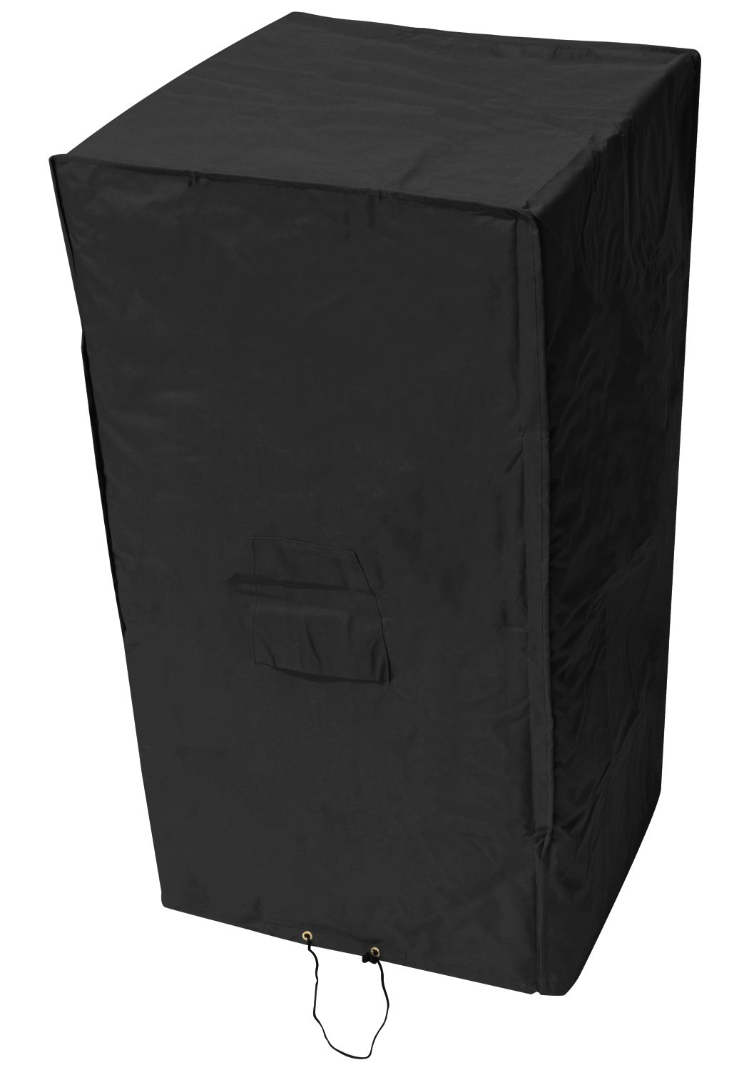 Oxbridge Black Outdoor Garden Stacking Chair Cover 0.66m x 0.66m x 1.22m/2.2ft x 2.2ft x 4ft 5 YEAR GUARANTEE