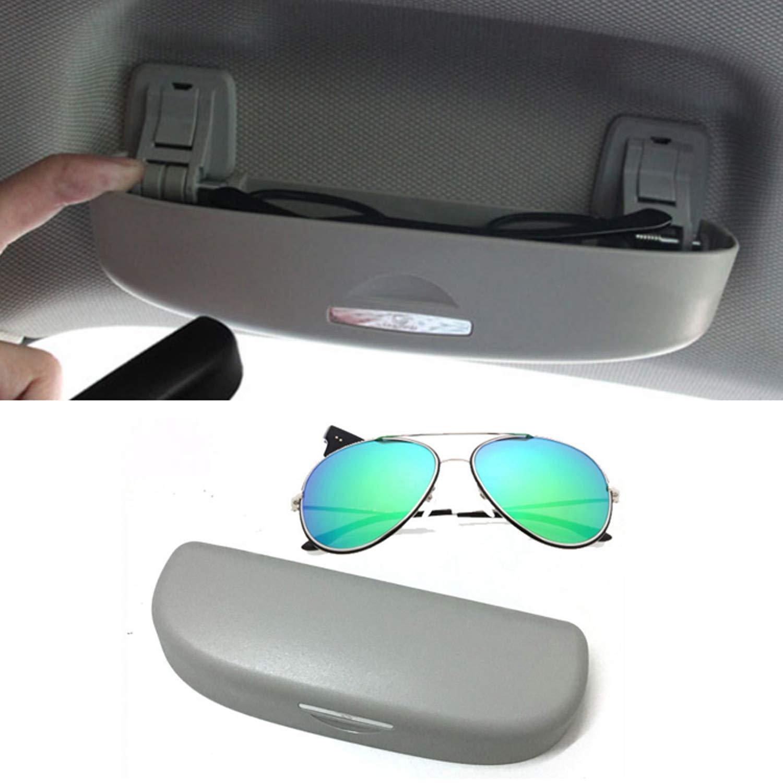Gris LFOTPP Coche Estuche de gafas Soporte de gafas de sol Auto Interior accesorios para Rav4