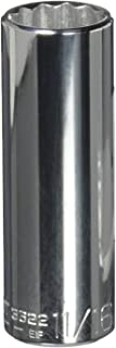 "product image for Wright Tool 3622 3/8"" Drive 12 Point Deep Socket, 11/16"""