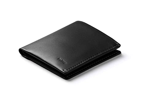 5632d99723 Bellroy Note Sleeve, Slim Leather Wallet, RFID Editions Available (Max. 11  Cards and Cash) - Black - RFID