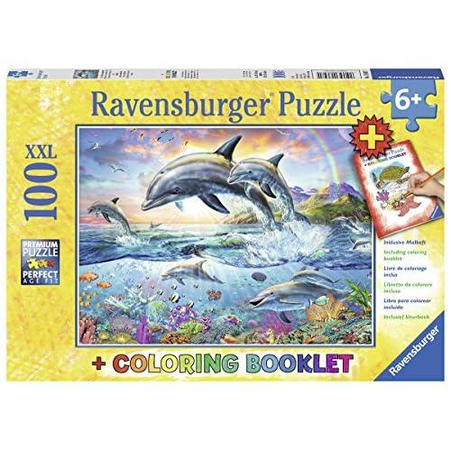 Ravensburger 13697–Sous l'eau multicolores monde Puzzle