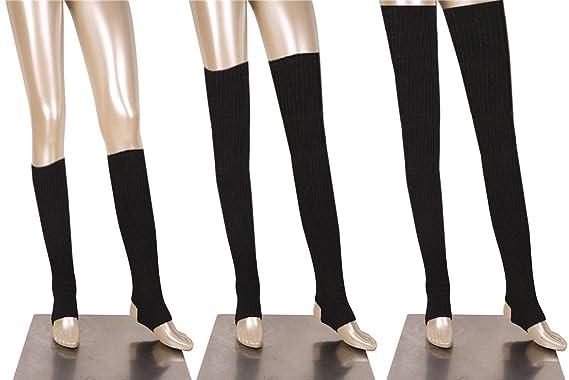 DANCE YOU 52-86cm Mujeres Calentadores la Pierna de Baile ...