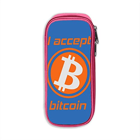 Amazon.com: I Accept Bitcoin 3D Printed Graphric Cool Pencil ...