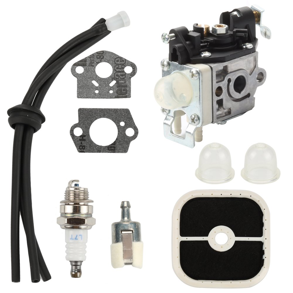 Harbot RB-K85 PB-265L Carburetor with Air Filter Tune Up Kit for ECHO PB265L PB-265LN PB-251 Blowers A021001350 A021001351 A021001352