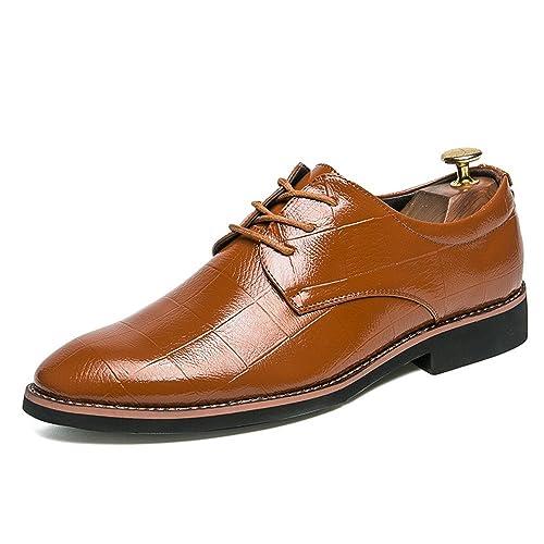 29106ab8 Consejos Informales de Oxford para Hombres con Zapatos Formales de Tendencia  Juvenil Transpirable (Color :