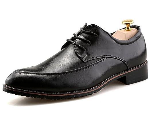 Nyngei Mens Casual Wingtip Formal Wedding Slip Rubber Sole Dress Oxford Shoes  ZIN2RZR1L