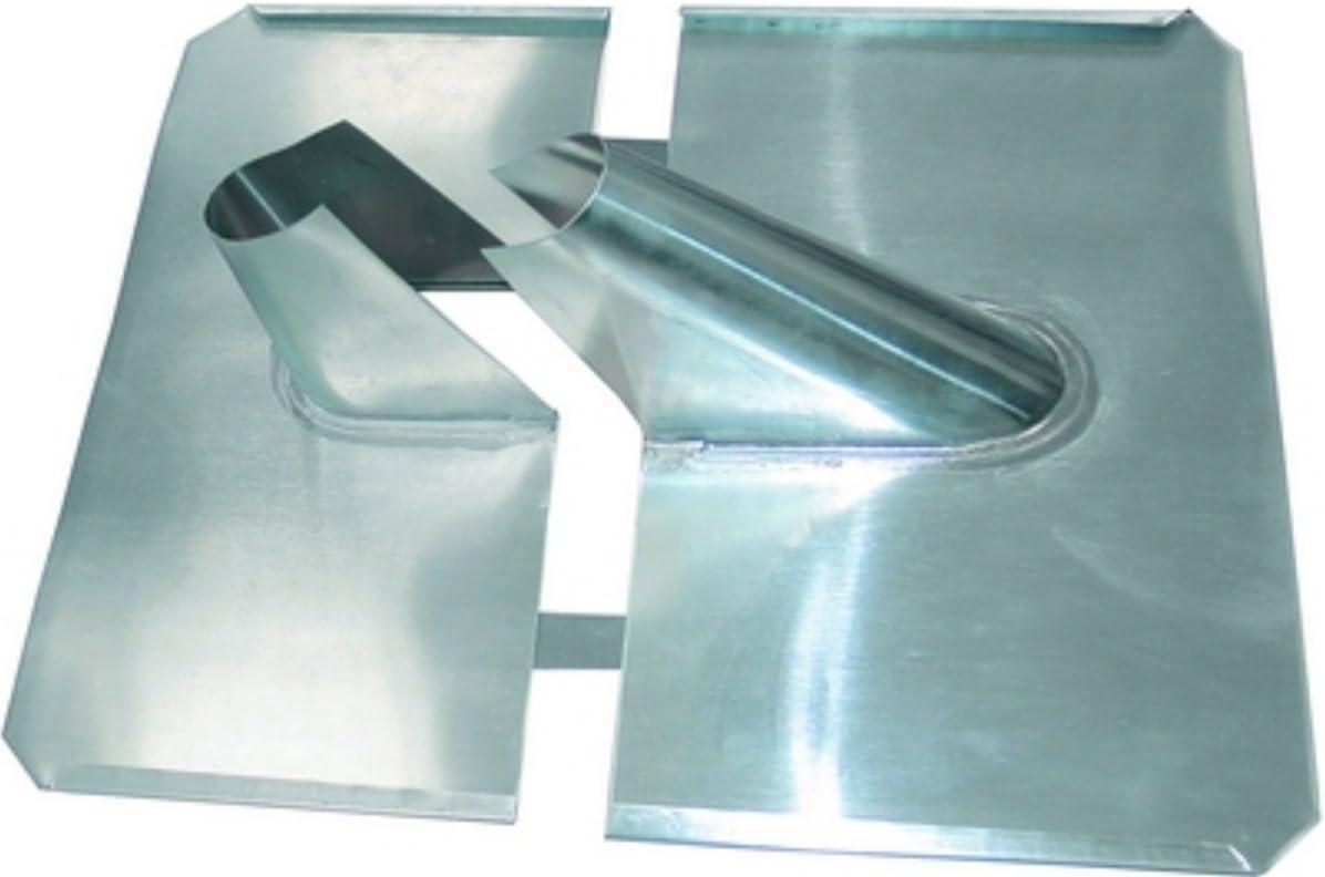 hochwertige Ausf/ührung Bleiziegel XM-Line Bleipfanne 29229/Dachpfanne zweiteilig silber