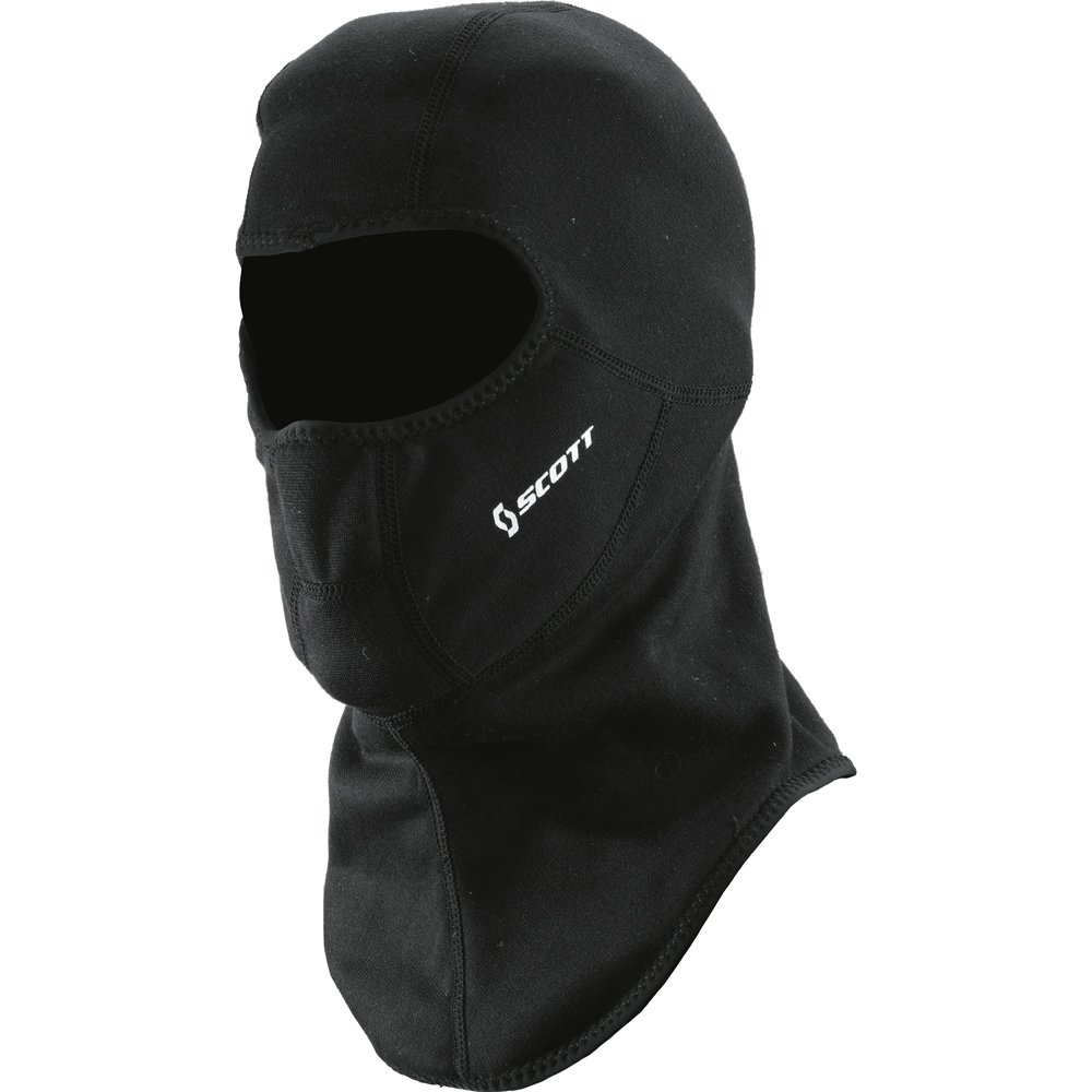 Scott kids' open motorcycle, bicycle, ski, balaclava, face mask in black