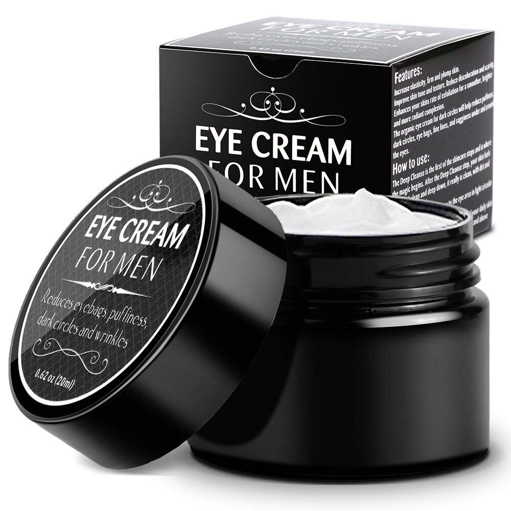 Eye Cream for Men-Kinbeau Eye Cream for Men,Anti-Aging Eye Cream,Total Eye Balm To Reduce Puffiness, Wrinkles, Dark Circles and Under Eye Bags