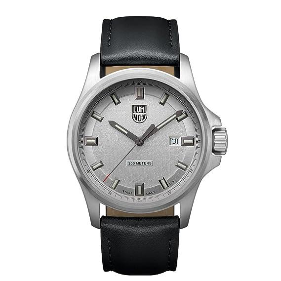 Luminox Dress Field XL.1839 Reloj de pulsera Cuarzo Hombre correa de Cuero Negro