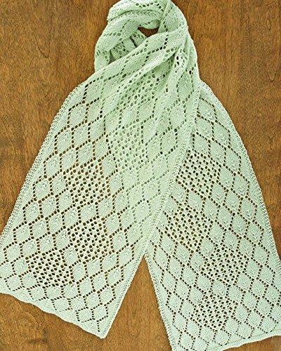 Hydrangea Lace Scarf - Fiber Trends Knitting Pattern AC83