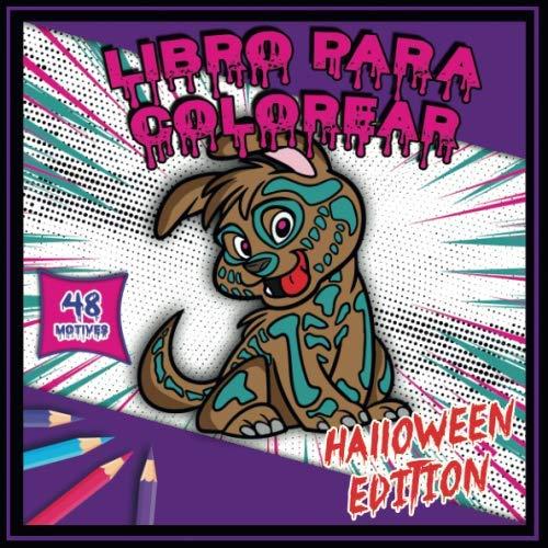 Libro para colorear - Halloween edition: Colorear Libro Halloween Edición | 48 dibujos (Spanish Edition)