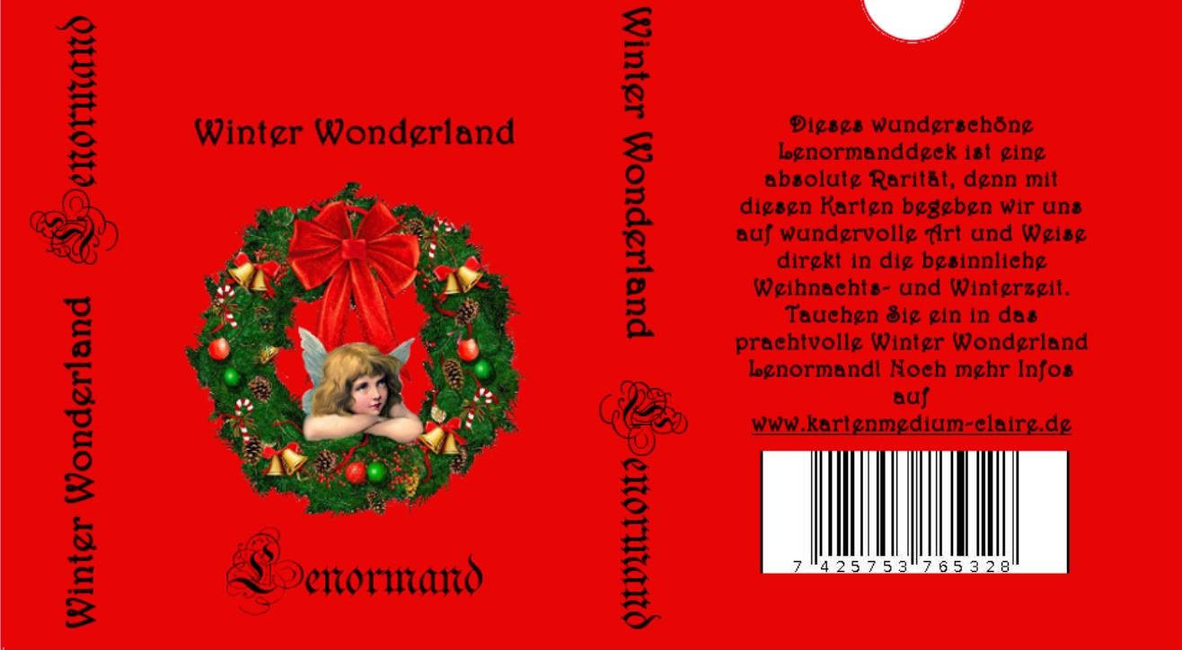 Winter Wonderland Lenormand: Amazon.de: Nadine Breitenstein, Conny ...