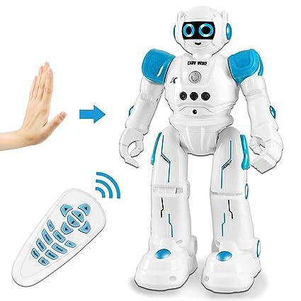 Elektronischer Roboter singen Tanzen gehen leichte Musik Spielzeug Kid Spielzeug