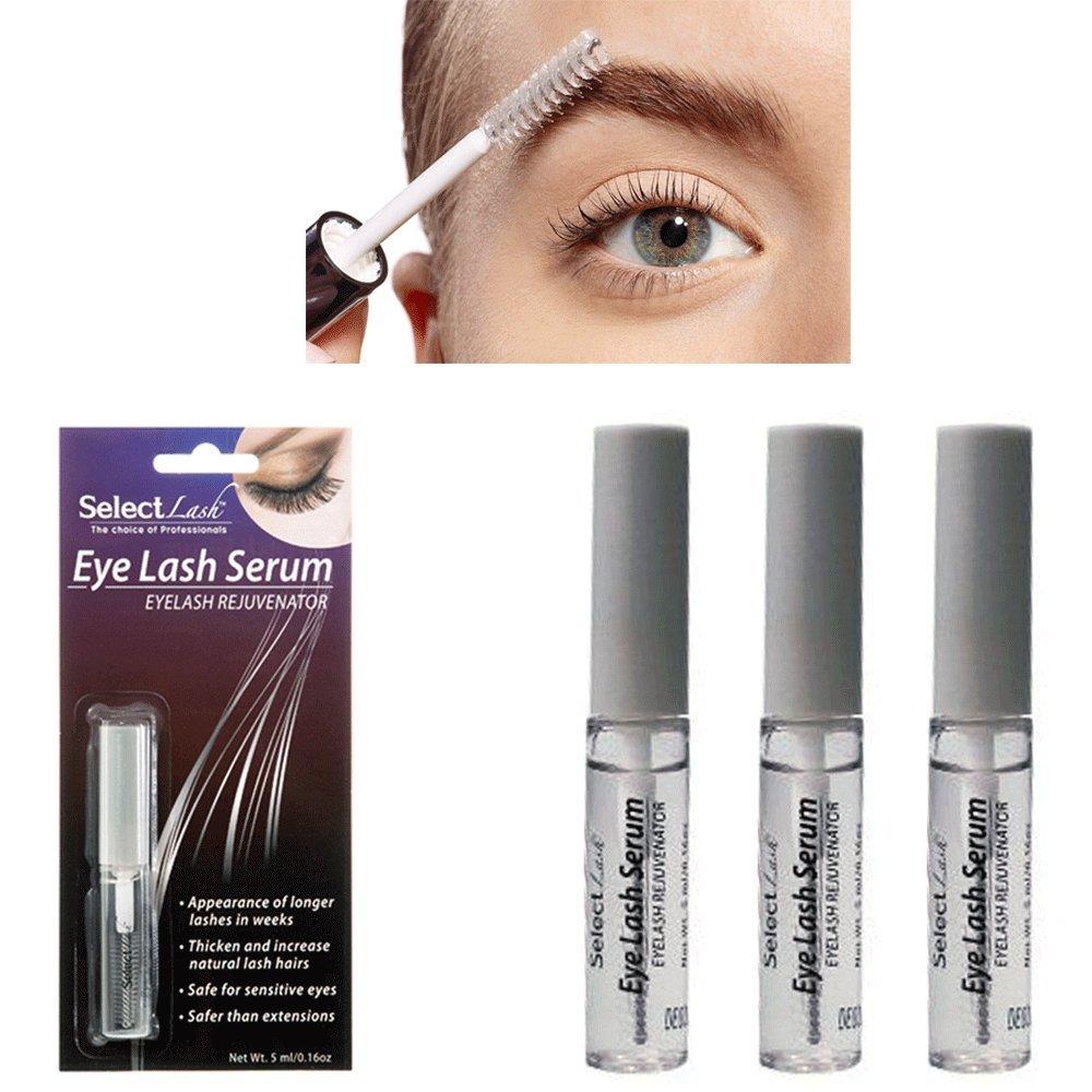 Amazon 3 X Eyelash Serum Lash Rejuvenator Thicken Increase