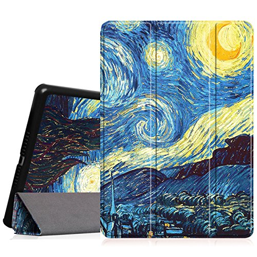 Fintie iPad Air Case - Ultra Slim Lightweight Stand Smart Cover with Auto Sleep/Wake Feature for Apple iPad Air 2013 Model, Starry Night