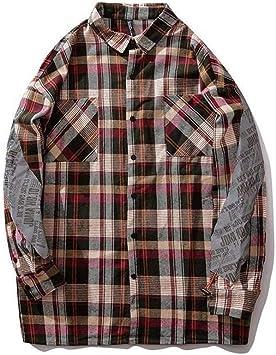 Camisa Camisa de Pareja Camisa Estampado de Letras Espalda Y ...