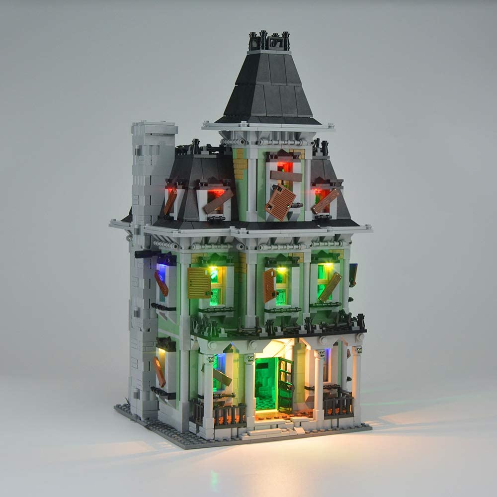 LIGHTAILING Conjunto de Luces (Monster Fighters Castillo con Monstruos) Modelo de Construcción de Bloques - Kit de luz LED Compatible con Lego 10228 (NO Incluido en el Modelo)
