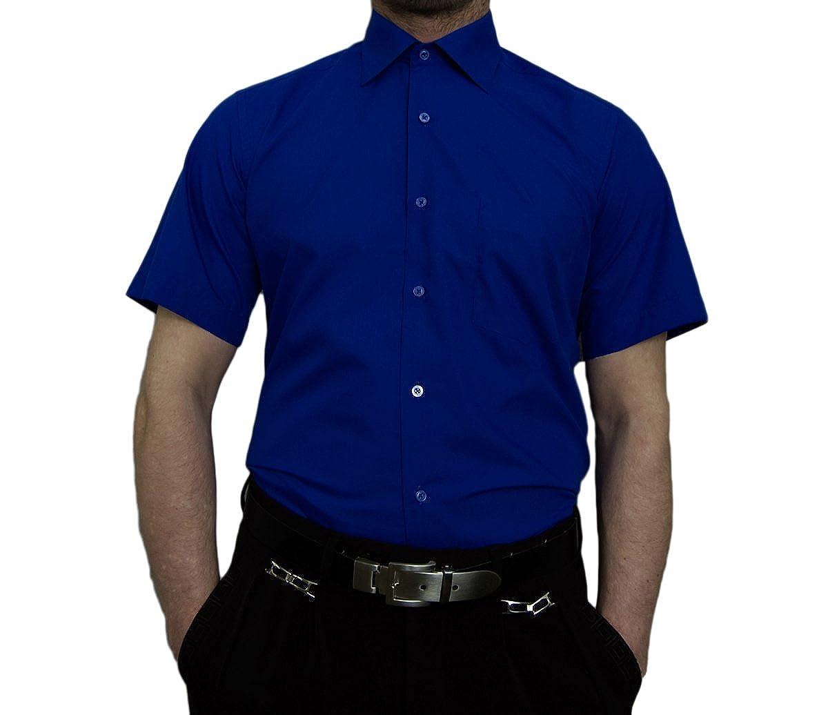 ea7499ef0a98e9 Tonelli Herren Designer Hemden B-Ware Freizeit Hemd TK11KAT Kurz Arm  klassischer Kent Kragen 2. Wahl  Amazon.de  Bekleidung