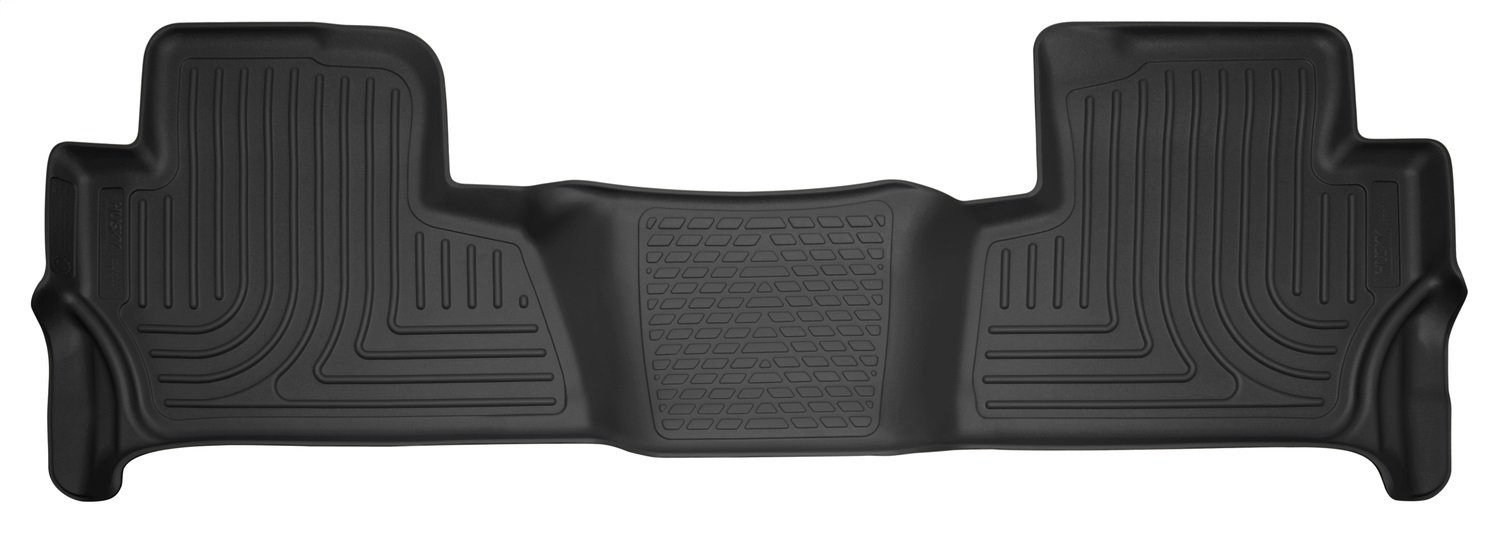 Husky Liners 53260 Cocoa Third Seat-2nd 3rd Floor Liners Fits 15-18 Escalade//Tahoe with 2nd Row Bench Seat
