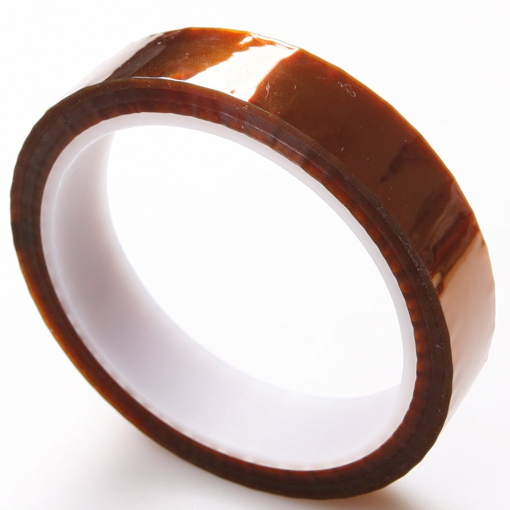 Atoplee High Temperature Heat Resistant Kapton Tape Polyimide Film Adhesive Tape (20mmx33m, 2 pieces)