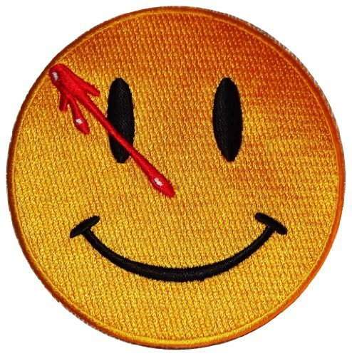 DC Comics THE WATCHMEN Smiley Face 3 1/2