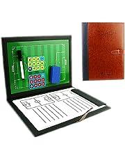 cfdc3768014 RoseFlower Carpeta Táctica de Futbol, Carpeta Pizarra Táctica de  Entrenamiento Entrenador Magnéticas de Fútbol con